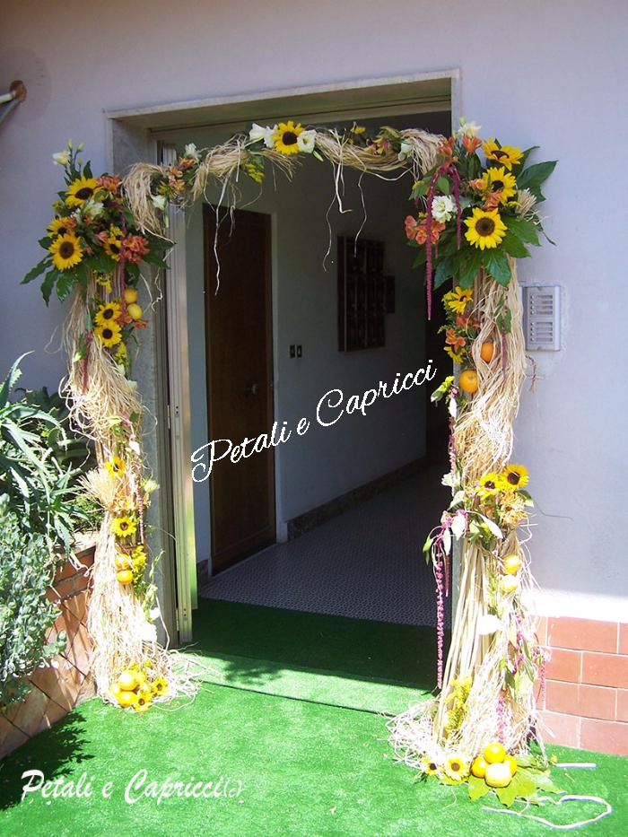 Best arco siciliano sposa with addobbi matrimonio casa - Addobbi casa sposa ...
